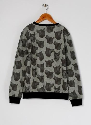 Funky Rocks Sweatshirt Füme